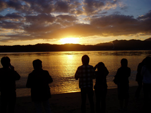 Amanohashidate Sunrise