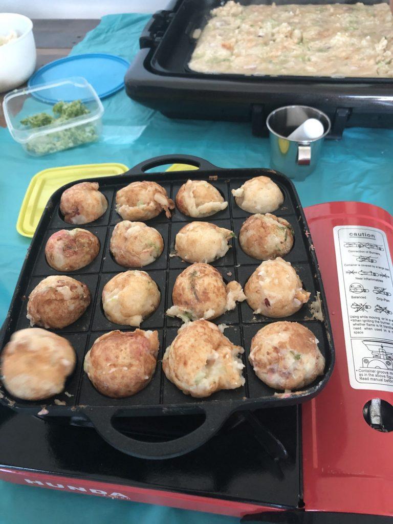 Takoyaki - Cooking