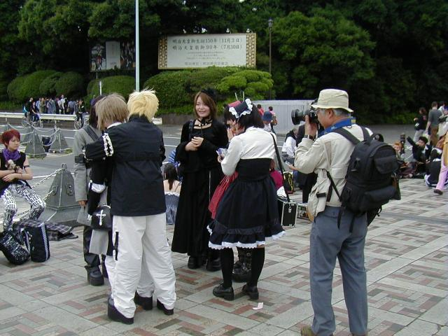 Harajuku Station Area 2002 Photographer