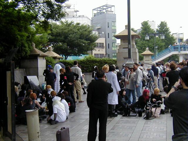 Harajuku Station Area 2002