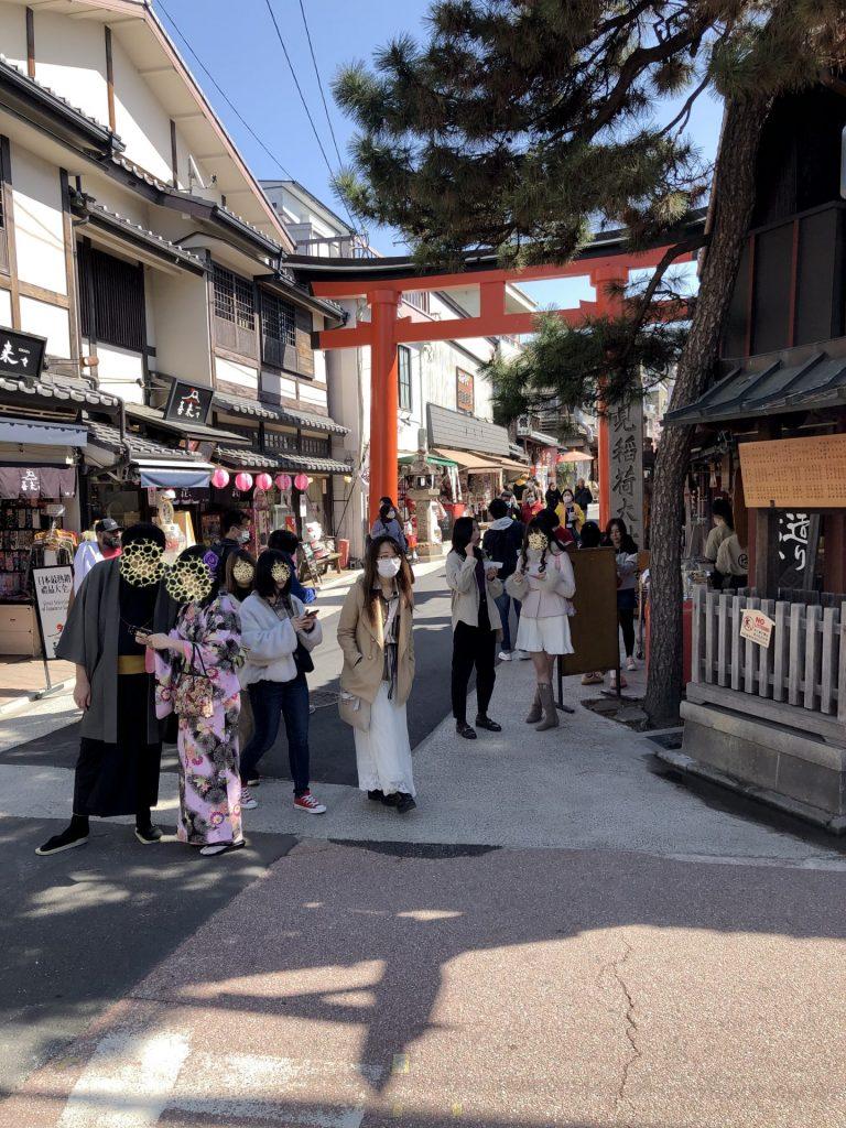 Fushimi Inari Shopping Street