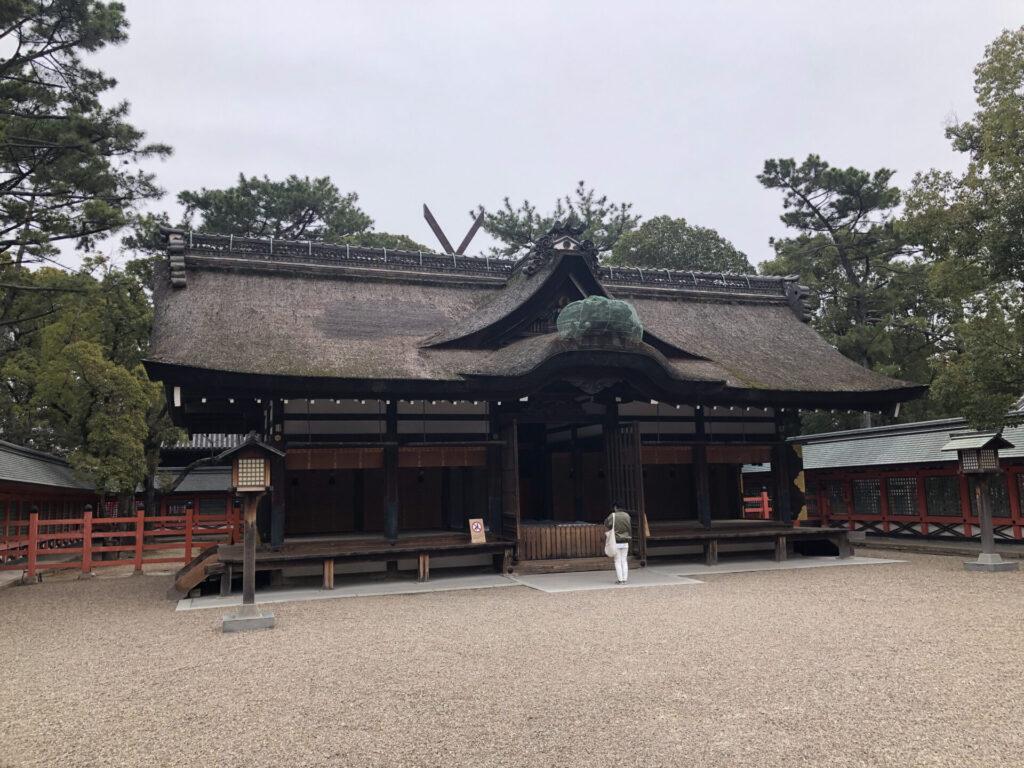 Sumiyoshi Taisha in Osaka