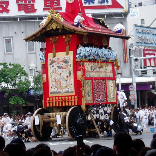 Gion Matsuri 2005 - float full view